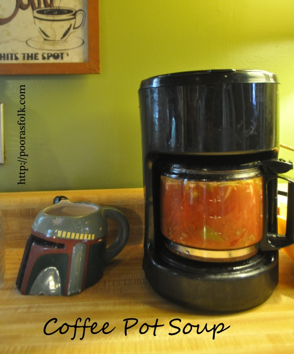 Coffee Pot Soup